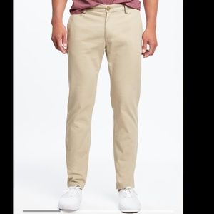Old navy slim uniform Non Stretch chino pants